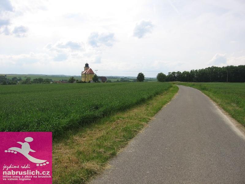 Jičín - inline trasa Kostelec - Vesec