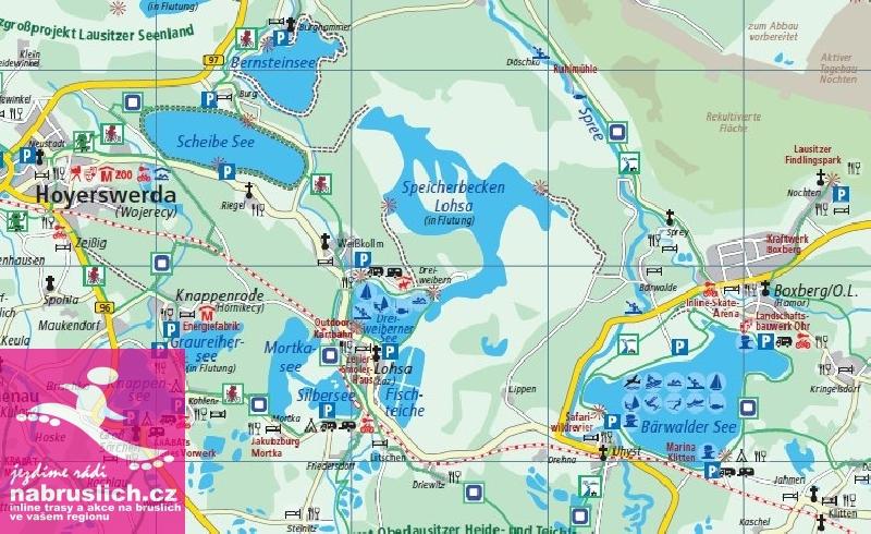 Lužická jezera - inline