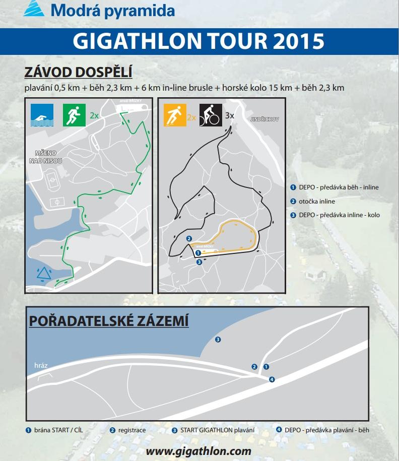 Gigathlon 2015 Jablonec nad Nisou